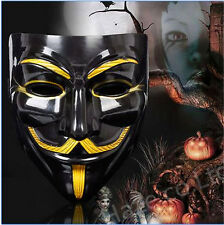 V for Vendetta Mask Anonymous Guy Fawkes Fancy  Fancy Adult Costume Great