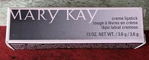 Mary Kay Creme Lipstick Amber Suede #022821 Full Size .13 oz