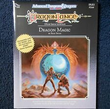 DLE2 Dragonlance Dragon Magic Adventure Module Dungeons & AD&D TSR Roleplay 9244