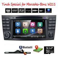"7"" Car Stereo Radio DVD GPS Satnav Player For Mercedes Benz E W211 CLS W219 USB"