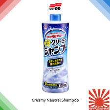 Soft99 Creamy shampoo Ph Neutral Fast delivery! NO IMPORT DUTY within EU! JDM