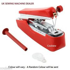 Mini Handheld Sewing Machine - Portable Cordless Hand-held - Colours will vary
