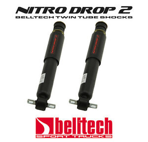 "97-04 Dodge Dakota 2WD Nitro Drop 2 Front Shocks 1"" to 3"" Drop (Pair)"