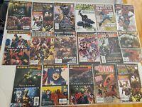 Lot of 17 Marvel Spotlight Magazines Spider-man Avengers Ironman X-Men