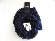 Steve Madden Women's Blue Metallic Infinity Scarf NWT One Size MSRP $44 SC338