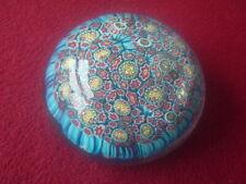 "Murano (Labelled) Millifiore Paper weight 3"" diameter"