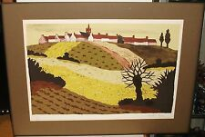 ANDRE EVEN LIMITED EDITIONS HAND SIGNED LANDSACPE LITHOGRAPH WITH C.O.A.
