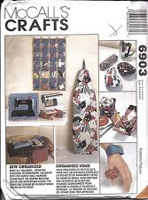 6903 UNCUT Vintage McCalls Sewing Pattern Sewing Accessories Pin Cushion Covers