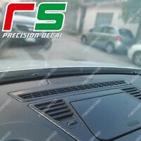 alfa giulietta ADESIVI diffusore cruscotto cover tuning decal sticker carbon