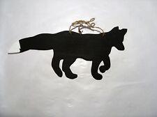 FOX WHITE Tail Lavagna segno Fattoria Animali Selvatici Lavagna Regalo di Natale
