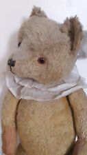 "Antique 28"" large jointed collectors mohair teddy bear approx 1940s -morris"