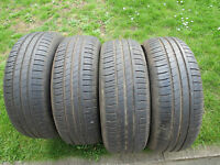 4 x 205/60 R16 92V Sommerreifen Hankook Kinergy Eco   7mm
