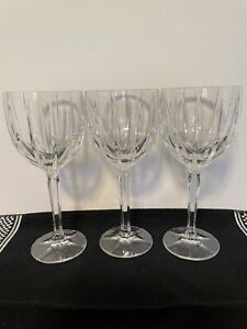 3 Marquis by Waterford Goblets