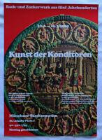 Poster Plakat - Kunst der Konditoren - Münchner Stadtmuseum 1969