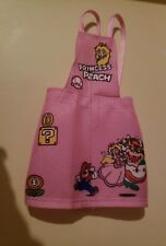 Barbie clothes Princess Peach Pink Overall  Super Mario Bros (pink overall ONLY)
