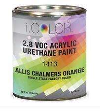 ALLIS CHALMERS ORANGE Gallon Kit Single Stage ACRYLIC URETHANE  Auto Paint Kit