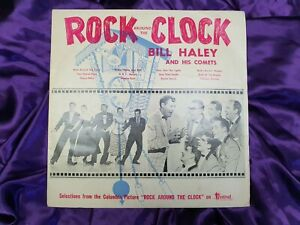 Bill Haley & His Comets Rock Around The Clock Vintage Vinyl 1956 FR12-1102 VG/VG