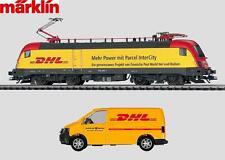 "Märklin H0 39833 E-Lok BR 182 ""DHL"" der DB AG - NEU + OVP"