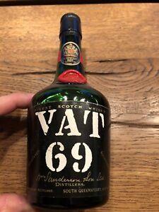 VAT 69 Scotch Whisky Sanderson 0,35l Epikur 1960er -Rarität