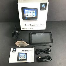 Rand McNally OverDryve RV Tablet GPS w/ Built in Dash Cam 0-528-02121-4 Open Box