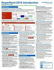 PowerPoint 2016 Training Guide Quick Reference Card 4 Page Cheat Sheet Help