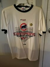 CHICAGO CUBS 2007 CENTRAL DIVISION CHAMPIONS MENS SIZE XL MAJESTIC T-SHIRT. New!