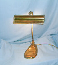 VINTAGE - CHRISTOPHER WRAY - BRASS DESK LAMP