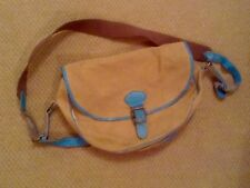 Paul Smith Bag  Rare Collectable Leather And Canvas