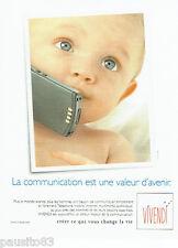 PUBLICITE ADVERTISING 096  1999  Vivendi   téléphonie téléphone mobile
