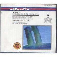 BERLIOZ - Requiem op. 5 / te deum op. 22 - 2 CD 1990 SEALED SIGILLATO