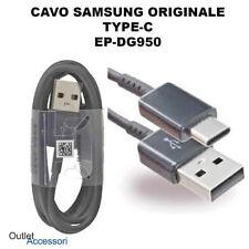 Cavo Dati Carica Ricarica Originale Samsung EP-DG950 TYPE-C Tipo USB Nero black