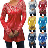 Women Casual O Neck T-shirt Blouse Ladies Long Sleeve Top Pullover Plus Size Liu
