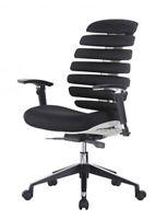 Ergo HQ Modern Fabric Mesh High Back Executive Computer Desk Task Office Chair