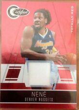 Single-Insert Denver Nuggets Basketball Trading Cards
