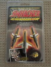 """Swhacker 100 Grain Expandable Bow Hunting 2 Blade Broad Heads 1.75 """" Cut 3 pack"""