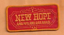 """NEW HOPE & IVYLAND RAILROAD   RAILROAD  PATCH 4"""" **"""