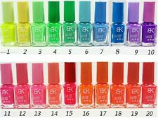 Neon Nail Polish Glow In The Dark Fluorescent Luminous Party Colour Art UK