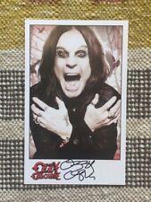 Ozzy Osborne Signed Autograph 5x8 Photograph Black Sabbath / Rock & Roll HOF USA