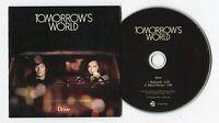 Tomorrow's World - cd-PROMO - DRIVE © 2012 - France-2-Track-CD lounge ELECTRONIC