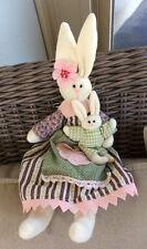 "Boyd's Bunny plush with baby bunny 15"""