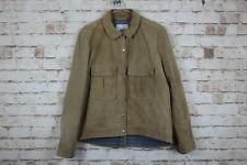 Mango Genuine Leather Jacket size M