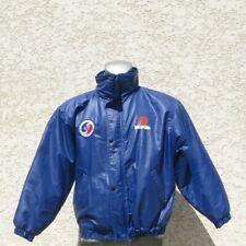 Ancienne veste Ecole du Ski français Orangina - Bleu - Taille L -