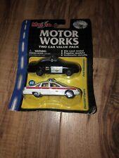 Maisto Motor Works Chevrolet Chevy Caprice/ Ford Interceptor Police 1/64 Diecast