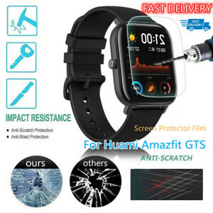 Ultra Clear Full Cover Soft HD Screen Protector Film for Huami Amazfit GTS US~~