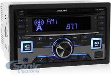 ALPINE Double DIN Bluetooth In-Dash CD/AM/FM Car Stereo | CDE-W265BT