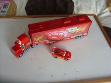 disney/pixar lightning mcqueen.mack play truck & diecast car.