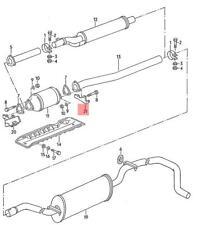 vw golf plete exhaust systems ebay Nos Drink Bottle genuine vw reinforcement nos vw caddy golf cabriolet jetta syncro 810253453