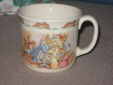 "Royal Doulton Bunnykins Celebrate Your Christening  One Handle Cup / Mug 3"" Tall"
