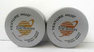 HAYASHI SYSTEM DESIGN ~ TEXTURE MUD ~ Hard Hold Design Adhesive ~2 oz~ LOT of 2!