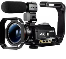 ORDRO HDR-AC3 Video Camera Ultra HD 4k Camcorder with Microphone